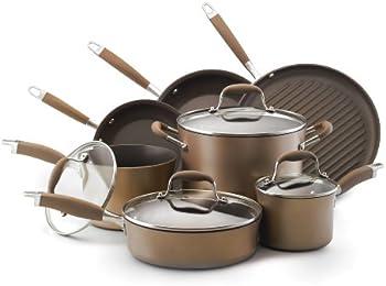 Anolon Advanced Bronze 11-Pc. Cookware Set