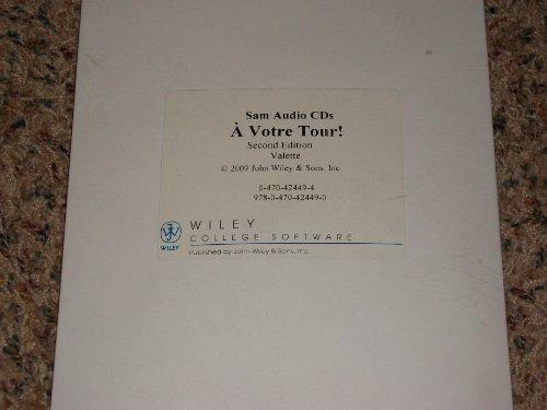 A votre tour!, SAM Audio CDs (12 CDs, 1 per Unit):...
