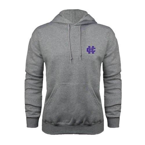 Holy Cross Grey Fleece Hood 'Holy Cross HC Logo' holy cross grey fleece hood holy cross hc logo