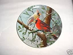 The Cardinal by Kevin Daniel Collector Plate