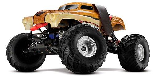 Traxxas 3602R 1/10 Monster Mutt 2WD Monster Truck RTR