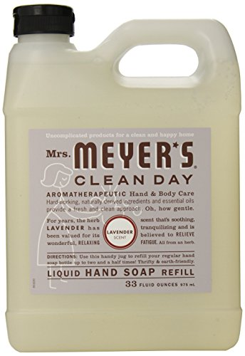 Mrs. Meyer's Clean Day Liquid Hand Soap Refill , 33 oz, Lavender