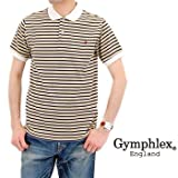 (ジムフレックス) Gymphlex メンズ INTERLOCK ボーダーポロシャツS/S[J-1042ST]