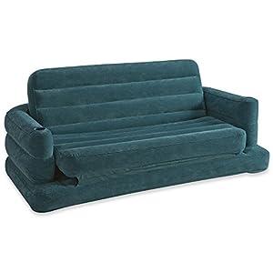 Intex 68566 divano letto 193x231x71 cm colori assortiti for Divano letto amazon