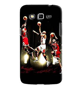 Blue Throat Competition Of Basket Ball Lover Printed Designer Back Cover For Samsung Galaxy Grand 2