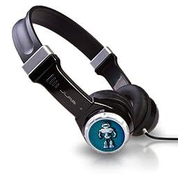 JLab Audio JBuddies Kids- Volume Limiting Headphones, GUARANTEED FOR LIFE - Black