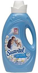 Suavitel 139013 Field Flower Fabric Softener, 50 fl oz Bottle (Pack of 6)