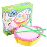 Musical Light Sound Flash Drum With Sticks For Kids