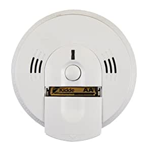Kidde KN-COSM-BA Battery-Operated Combination Carbon Monoxide and Smoke Alarm with Talking Alarm