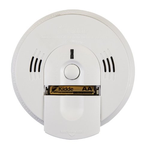 Kidde Kn-Cosm-Ba Battery-Operated Combination Carbon Monoxide And Smoke Alarm With Talking Alarm front-12154