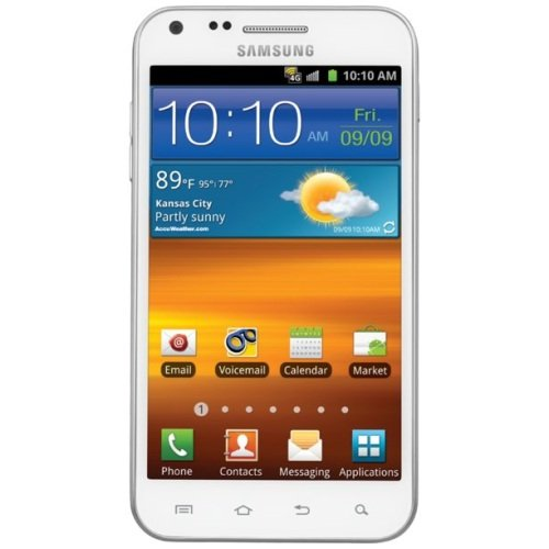 Buy No Contract Phones – Samsung Epic 4G Touch Galaxy S II No Contract 8MP Android Smartphone – White Sprint