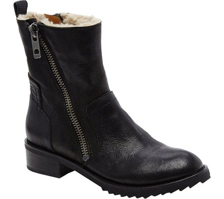 Dolce Vita Women's Kincaid Shearling Lined Booties, Black, 1