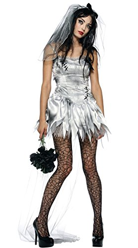 [NonEcho Adult Marry Me Dead Zombie Bride Costume Women] (Xl Ghostly Gal Adult Costumes)