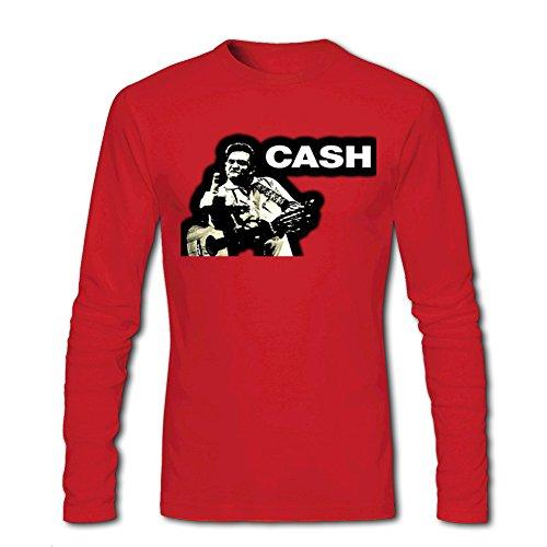 Johnny Cash Finger For Mens Long Sleeves Outlet