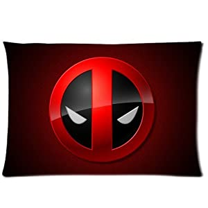 Design Comic Humorous Heroes Deadpool Rectangle One Pillow Case 20x30 (one side) Comfortable For Lovers And Friends by MR. ZHENG