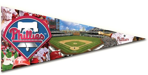 Mlb Pennant Shaped Puzzle - Philadelphia Phillies