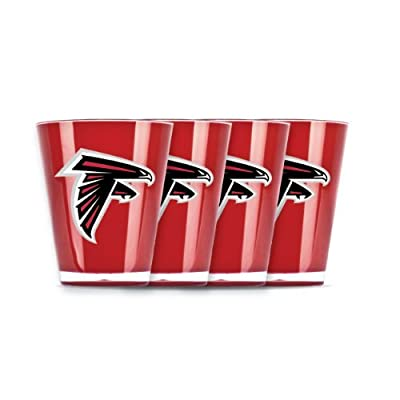 NFL Atlanta Falcons Shot Glass Set (4-Piece)