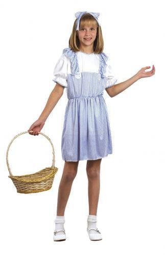 Pams Childrens Country Girl Costume (Dorothy)