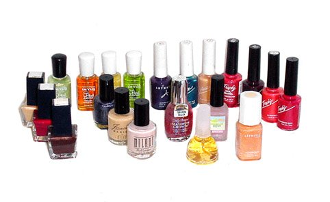 Set of Salon Quality Nail Polish Set - 20 Pcs.