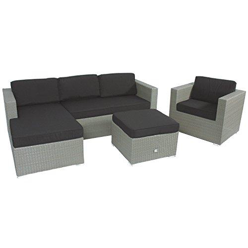 Lesli-Living-Supper-Club-Rattan-Lounge-Set-Eckbank-Jazz-1x-Bank-1x-Lounge-Tisch-1x-Sessel-Grau