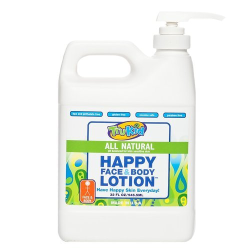 TruKid Happy Face & Body Lotion 32 oz. Family Size - Super Safe & Sensitive Lotion - 1