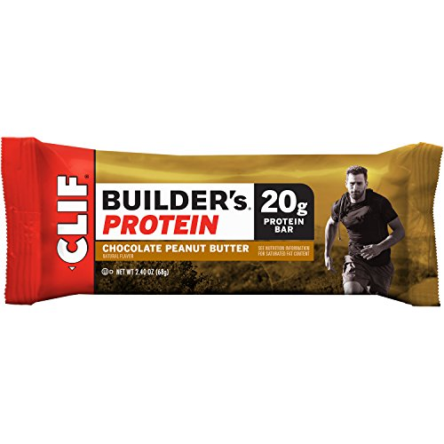 CLIF BUILDER'S - Protein Bar - Chocolate Peanut Butter - (2.4 oz, 12 Count) (Cliff Bars Builder Bars compare prices)