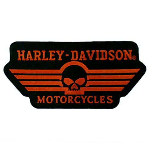 "12"" Skull Willie G HD Motorcycle Biker Vest Back Patch Emblem XL"