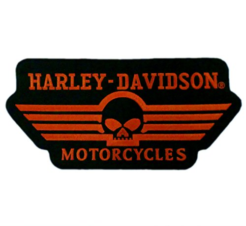"12"" Skull Willie G HD Motorcycle Biker Vest Back Patch Emblem XL 0"