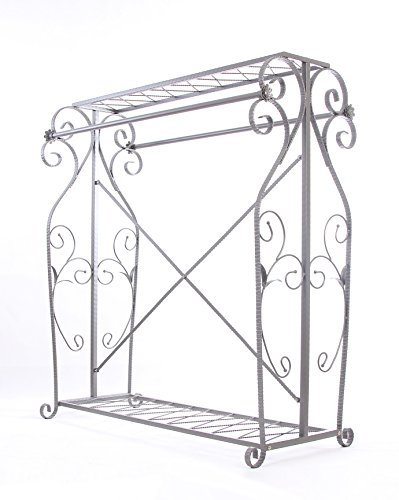 Decorative Grey Steel Iron Garment Coat Rack (Y009D) 8