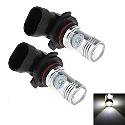 See 2Pcs 9005 20W 4-Cree XP-E 1800lm 6000K White Light LED for Car Headlamp / Fog Light Lamp (DC 12-24V) Details