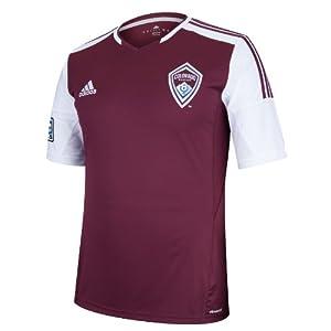 MLS Colorado Rapids Short Sleeve Replica Jersey by adidas