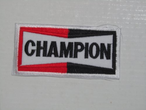 CHAMPION SPARK PLUGS Motorcycles MotoGP Racing Logo Shirt PC01 Patches