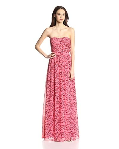 Erin by Erin Fetherston Women's Strapless Cheetah Gown