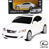 1:24 Scale Lexus IS350 Radio Controlled Car RTR Official Liciense Model (Color:White)