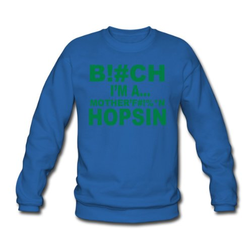 Spreadshirt, hopsin, Men's Sweatshirt, royal blue, L