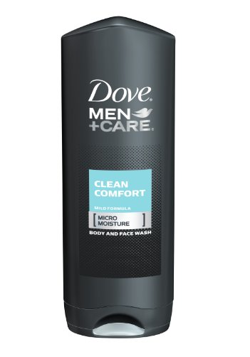 Dove Dove Men and Care Body and Face Wash, Clean Comfort, 18 Ounce (Pack of 3)