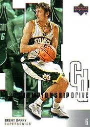 2002-03 Upper Deck Championship Drive #88 Brent Barry
