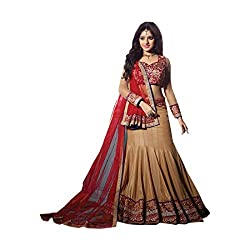 HSFS SELF DESIGN EMBROIDERED LEHENGA CHOLIS