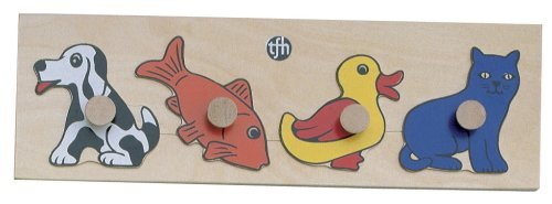 Cheap TFH-USA Pet Puzzle with Large Knobs (B0018QG90A)