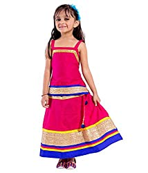 Home Shop Gift pink Cotton Lehenga Choli For Kids ( Baby Girl ) Size Lehenga Length-12 inches - Waist-20 inches Size Choli - Length- 15 inches- Cheast-24 inches