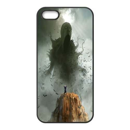 Case for IPhone 5,5S, Sleeping Giants, the Dark Slumber ,Morpheus Commission,cthulhu Case for IPhone 5,5S, Jumphigh Black