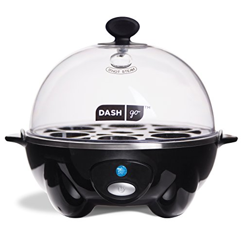 Dash Go Rapid Egg Cooker, Black (Dash Hard Boiled Egg Cooker compare prices)