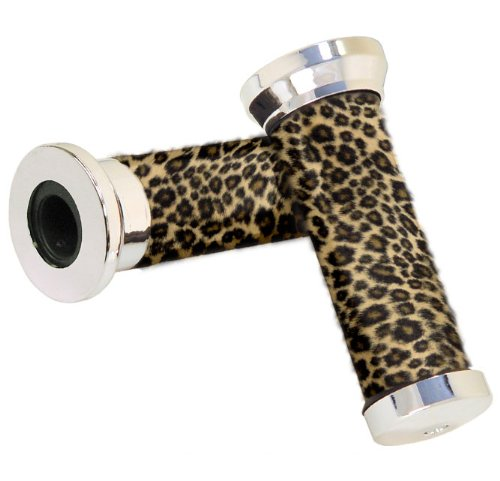 Nirve Leopard Cruiser Bicycle Handlebar Grips