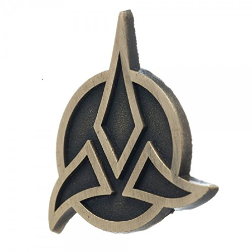 Star Trek Klingon Gold Lapel Badge Pin