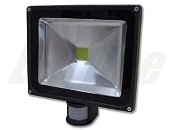 led strahler mit bewegungsmelder led fluter 30 watt kaltweiss led flutlicht 30w 2700 lumen. Black Bedroom Furniture Sets. Home Design Ideas