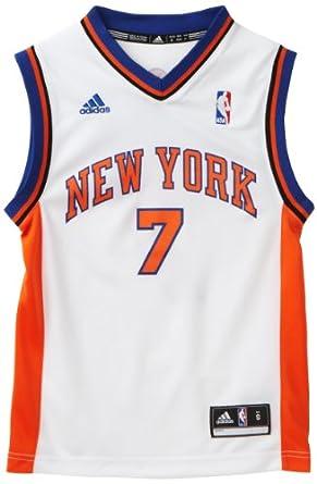 NBA New York Knicks Carmelo Anthony White Replica Jersey Boys