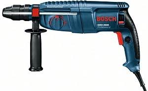 Bosch Bohrhammer GBH 2600 Professional blau Koffer, 3teiliges Meisel und BohrerSet  BaumarktKundenberichte und weitere Informationen