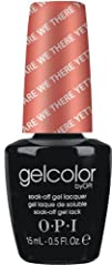 OPI Gelcolor Nail Polish Are We There Yet 0.5 Fluid Ounce