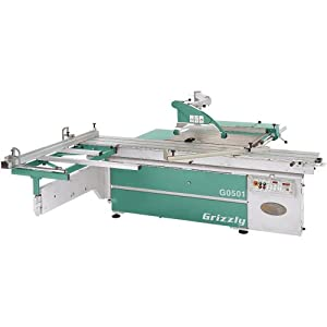 Grizzly G0501 Sliding Table Saw 14 Inch Power Table Saws