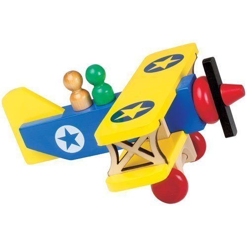 Classic Biplane - Buy Classic Biplane - Purchase Classic Biplane (Montgomery Schoolhouse, Toys & Games,Categories,Play Vehicles,Wood Vehicles)